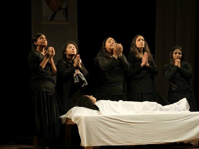 MP's first women's theatre club,Bhopal,Lata Sangade