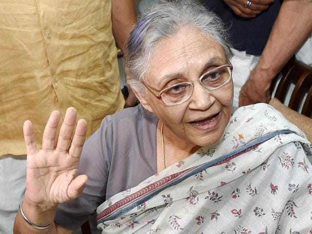Congress chief ministerial face in UP Sheila Dikshit also expressed concern over the political ethics in UP.