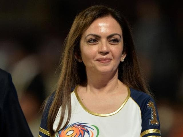 The government has granted 'Y' category security cover to Nita Ambani.(AFP Photo)