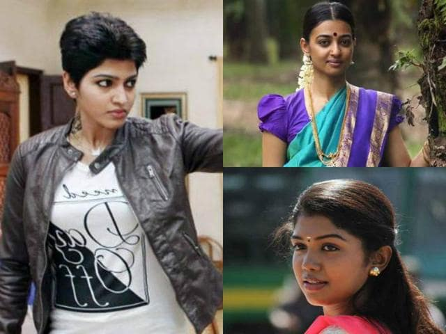 While everyone is talking about Radhika Apte, the two other actors - Dhansika and Riythvika - who essay important roles in Kabali also hold their ground in the film.