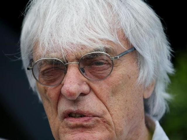 Formula One boss Bernie Ecclestone, whom Forbes magazine estimates is worth $3.1 billion - along with his family - and one of the most powerful men in sport, married Flosi in 2012, three years after meeting her at the Brazilian Grand Prix.