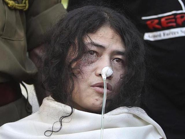 File photo of Manipuri civil rights activist Irom Sharmila who announced the end of her 16-year-old hunger strike against AFSPA  on July 26, 2016.