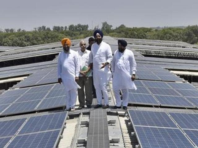 Punjab top state in rooftop solar power generation, says Majithia | punjab | top