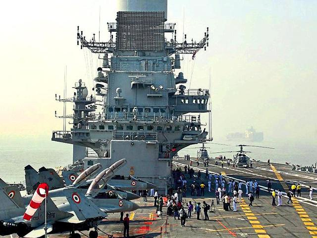 File photo of  MiG-29 K fighter plane at the Naval Base INS Hansa in Goa.  The Russian-origin warplanes were being accepted despite a string of discrepancies, says CAG in a report tabled in Parliament.