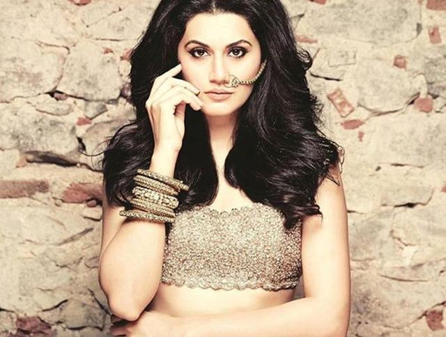 Actor Taapsee Pannu is careful about who she chooses as her hair stylist for her films.