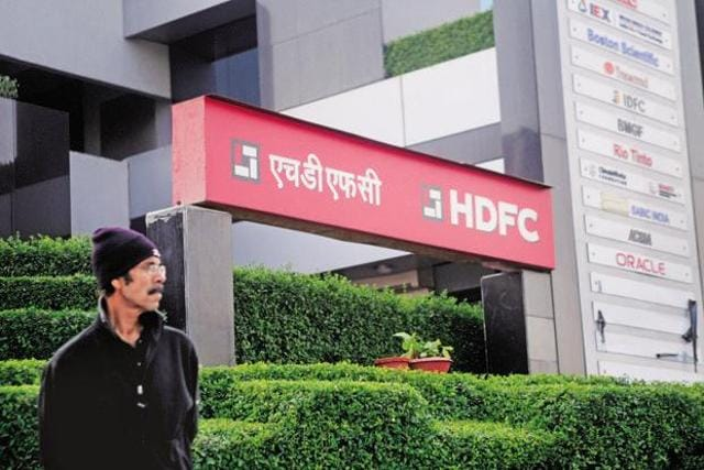 Housing Development Finance Corporation, or HDFC, the country's largest mortgage financier, reported a 37% jump in net profit for the first quarter ending June.