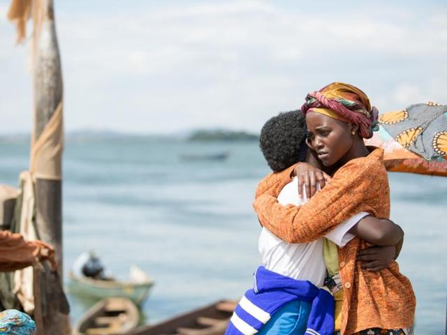"""Lupita Nyong'o (right) in the film """"The Queen Of Katwe"""" by Indian-origin filmmaker Mira Nair, which will have its premiere at the Toronto International Film Festival."""