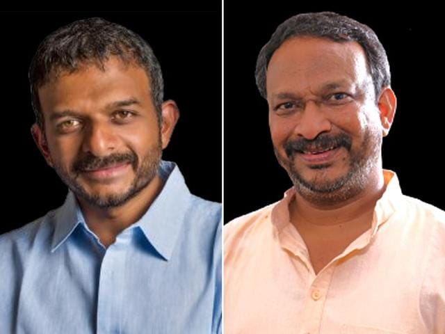 T M Krishna (L) and Bezwada Wilson (R) were chosen for the prestigious Ramon Magsaysay Award for 2016.