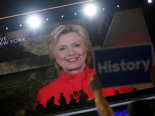 US presidential elections,Democratic National Convention,Hillary Clinton