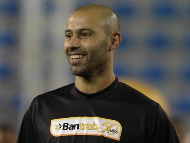 A file photo of Barcelona defender Javier Mascherano.(AFP Photo)