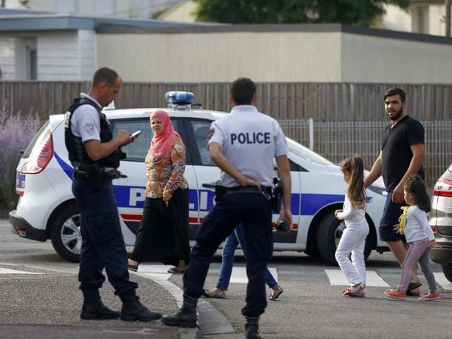 France church attack,French church attacker,Normandy