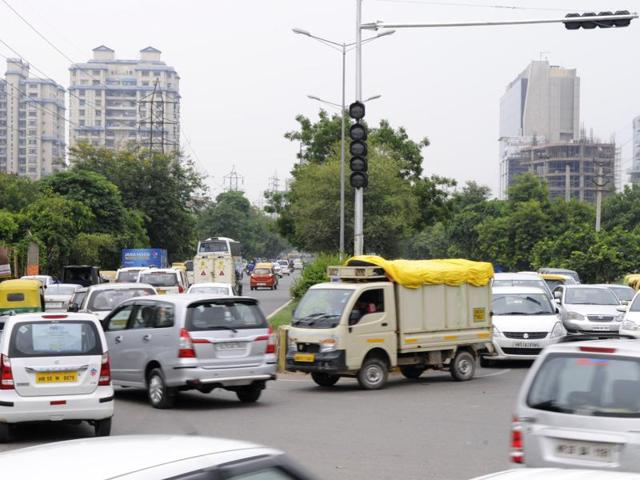 The traffic light on the road from Huda Metro station to Sector 44, a distance of over 3 km, too is non-functional. Residents of Green Wood City society in Sector 46 said they have approached the MCG and the Gurgaon police over the issue several times, but to no avail.