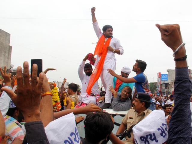 Led by Hardik Patel, the Patidars, also known as the Patels have been demanding reservation and inclusion in the Other Backward Castes (OBC) category.