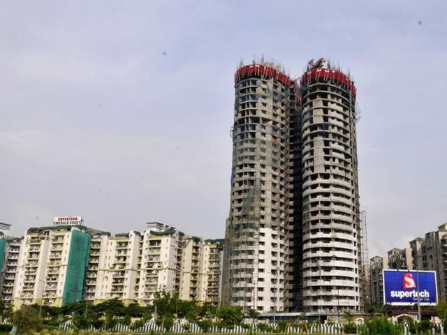Supreme Court has  directed NBCC (India) Ltd to verify if  NCR developer Supertech has complied with the safety norms in its 40-storey twin towers project Emerald Court located in Noida.
