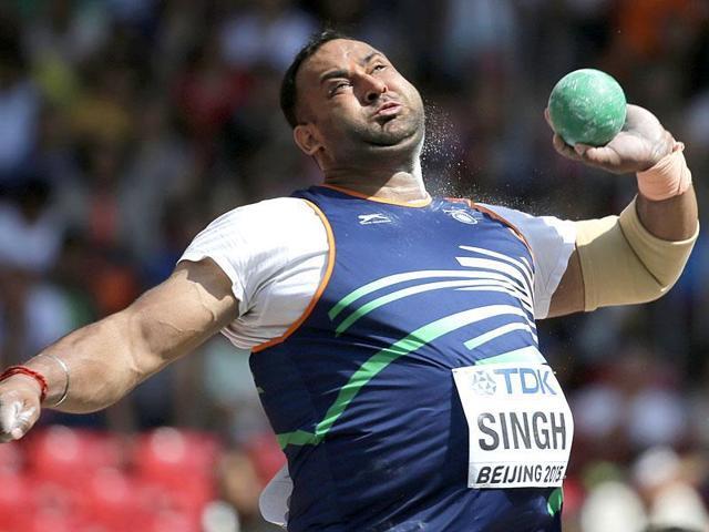 Inderjeet Singh,Rio 2016,National Inter-State Athletics Championships