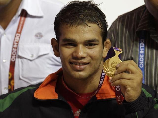 A file photo of Indian wrestler Narsingh Yadav.
