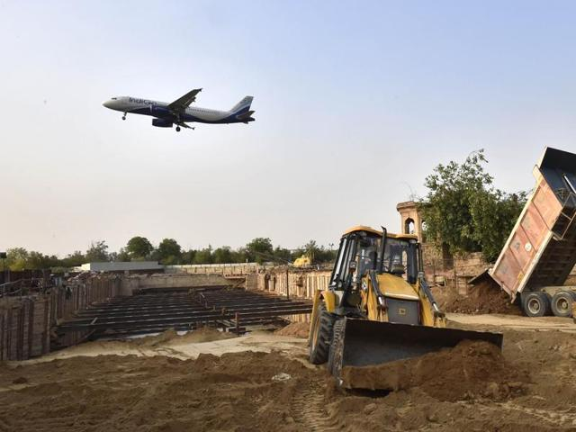 With the new taxiway at IGI Airport's T-3, an aircraft will have to travel two kilometers instead of seven to take-off from the 10-28 runway.