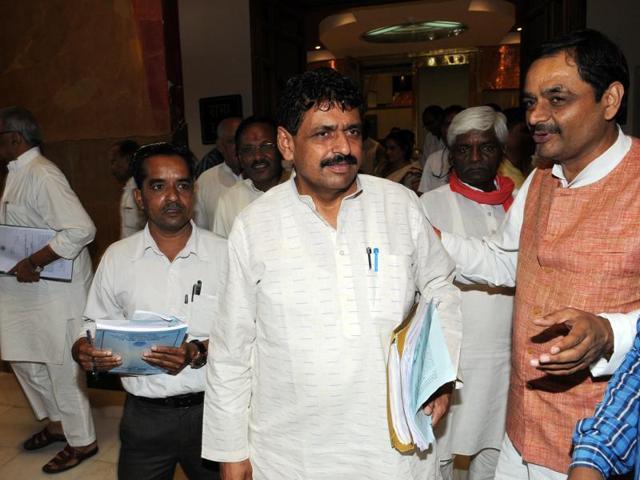 Madhya Pradesh assembly,illegal mining in MP,Rajendra Shukla