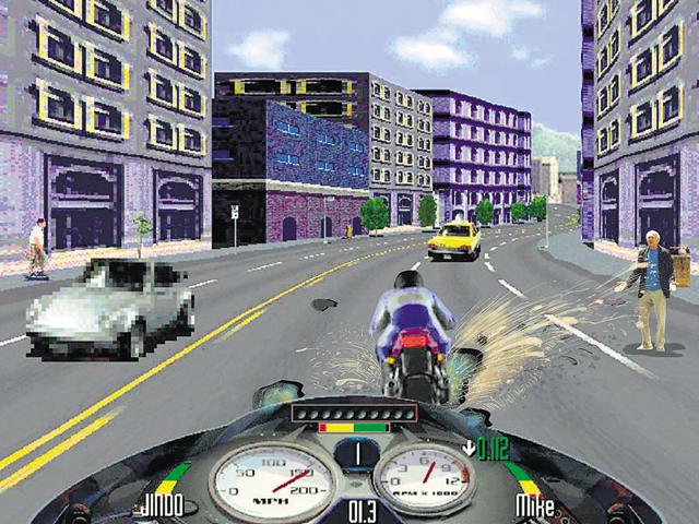 Sapan Verma wants to tax bikers who think they're playing Road Rash
