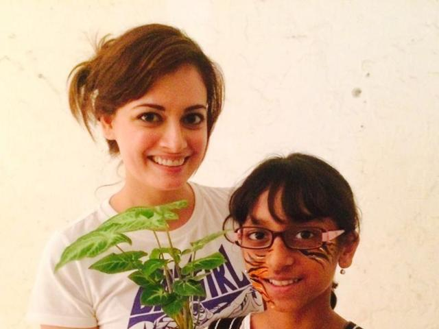 Dia Mirza recently helmed an ad for a public service initiative called Tiger For Kids.