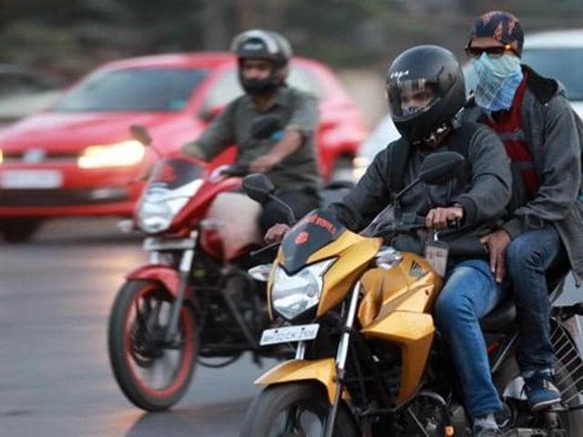 From August 1, no two-wheeler riders will be sold petrol at pumping stations if they are not wearing helmets.