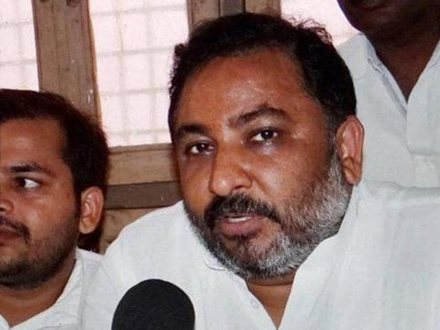 "Dayashankar Singh called the BSP chief a ""vaishya"" for allegedly selling party tickets to aspiring candidates for next year's state polls. (PTI Photo)"