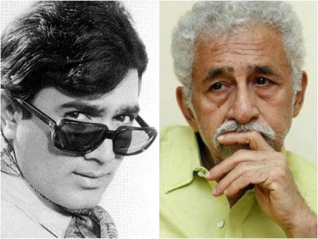Naseeruddin Shah,Rajesh Khanna,Hindi Cinema