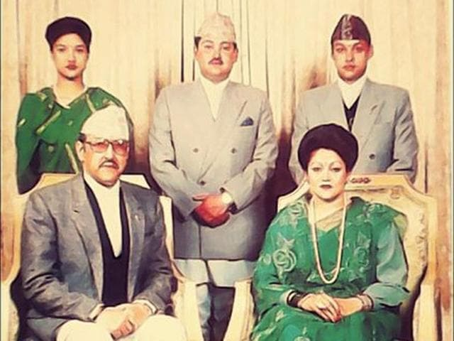 A file photo of Nepal's erstwhile royal family.  Nepal government has decided to lease out or rent land, a palace, and a bungalow owned by members of the royal family.