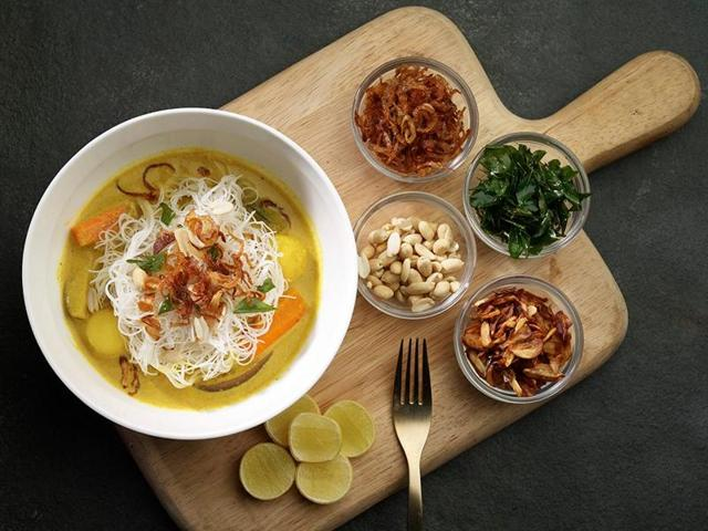 Khao suey by The Curry Brothers