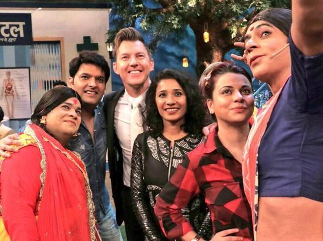 Brett Lee,Tannishtha Mukherjee,The Kapil Sharma Show