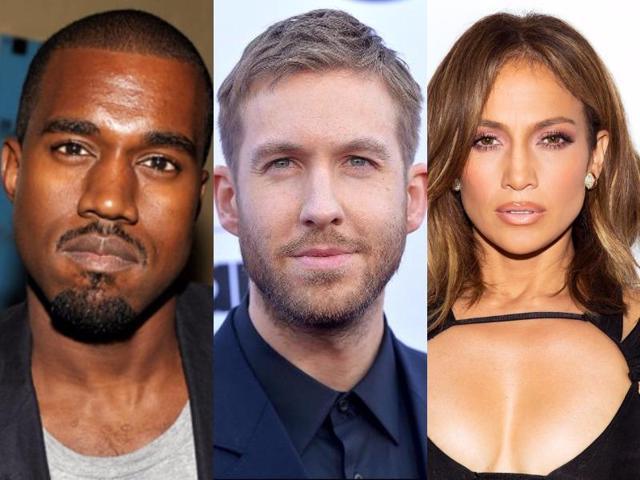 Kanye West,Jennifer Lopez,Jennifer Lopez Calvin Harris