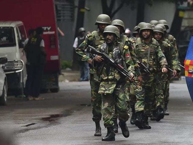 BOn Tuesday, police raided a building in a Dhaka suburb and killed nine militants, who police said were from the same domestic group as the cafe attackers, and who had been plotting their own similar attack