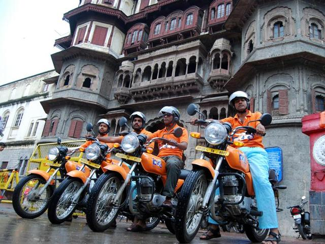 An Indore-based start up has launched the bike taxi service in Indore.