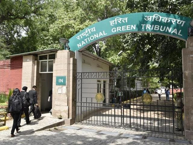The National Green Tribunal said stadia and huge projects such as Siri Fort should preferably should not be constructed in green areas.