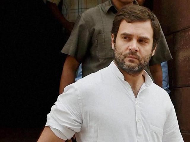Congress vice president Rahul Gandhi in New Delhi. (PTI file photo)