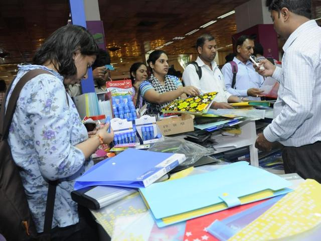 A glimpse of the expo that will have stationery, office supplies and gifts on display.