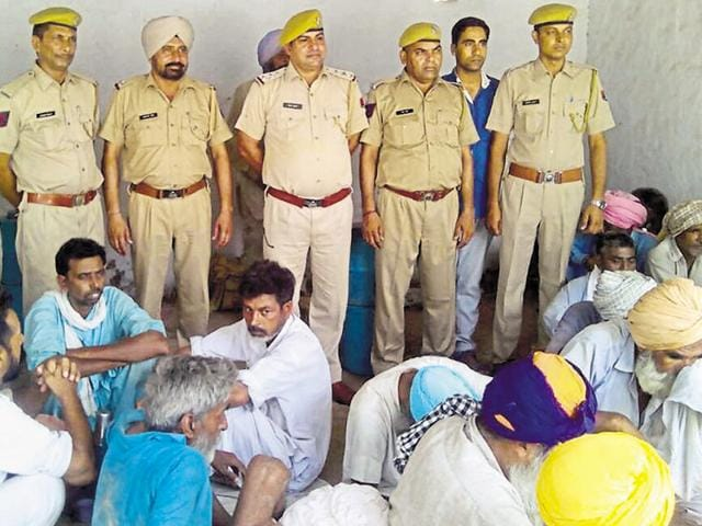 Fifty-seven people were sent to jail for ferrying doda on a private bus from Jaisalmer to Punjab on July 21. HT