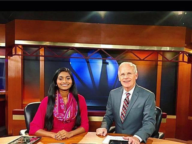 Sruthi Palaniappan became the youngest delegate at the Democratic National Convention in Philadelphia.