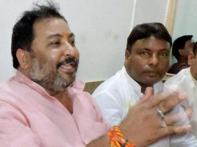 Expelled BJP leader Dayashankar Singh, who made derogatory remarks against BSP chief Mayawati, was arrested on Friday. (PTI File)