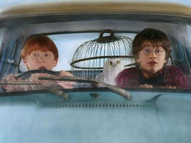 The first of the seven books, Harry Potter and The Philosopher's Stone, was published in 1997.