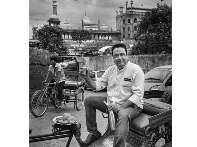 Chef Manish Mehrotra strikes a pose for an exclusive Brunch cover shoot
