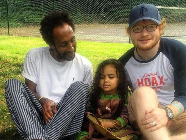 Ed Sheeran was spotted with a band on his wedding ring finger leading to speculation about his marriage.