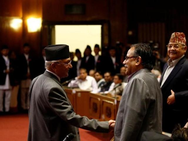 Chinese ambassador Wu Chuntai held talks with Prachanda (in picture) and assured him of Beijing's full cooperation to his government.