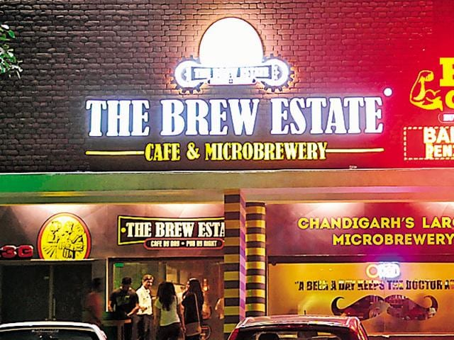 The Brew Estate in Sector 26, Chandigarh.