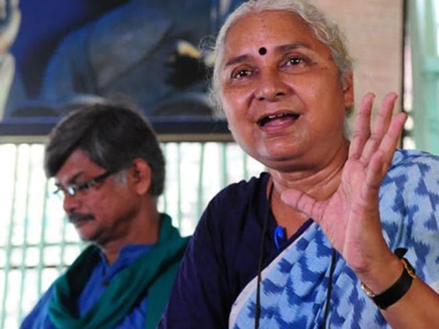 Narmada Bachao Andolan leader Medha Patkar will protest against Gujarat government's plan to fill Sardar Sarovar Dam.