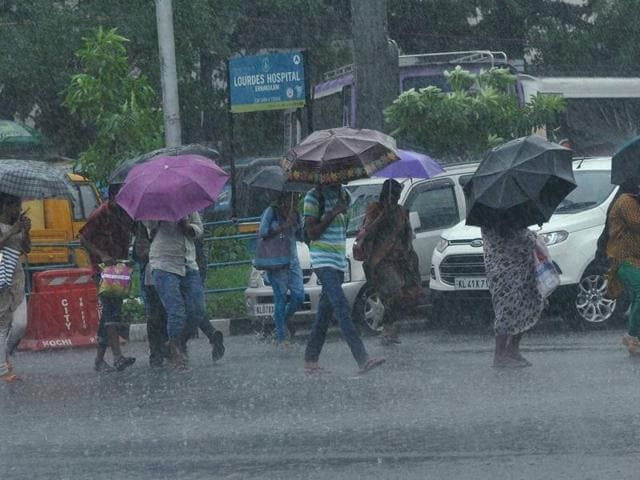 India may end up with a slightly higher-than-average monsoon, rather than a surplus one, the state-run weather bureau's latest observations show.