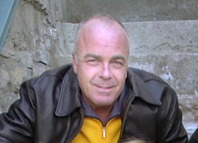 In this Jan. 21, 2004 file photo, actor Jerry Doyle poses before the premier of Open House during the Slamdance Film Festival in Park City, Utah.