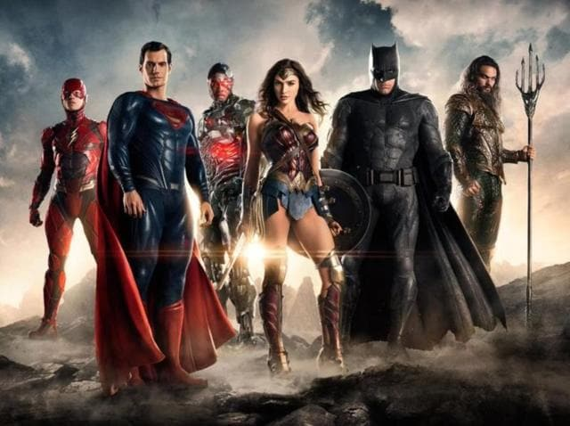 Presenting: The Justice League!