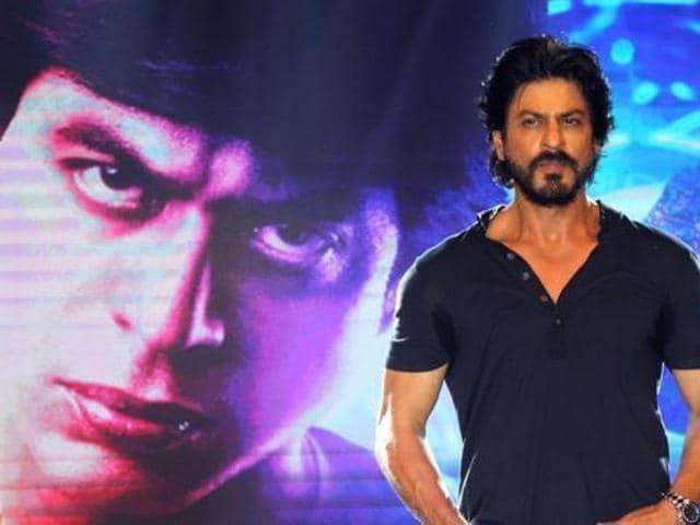 Shah Rukh Khan, 50, looks much fitter than his age.