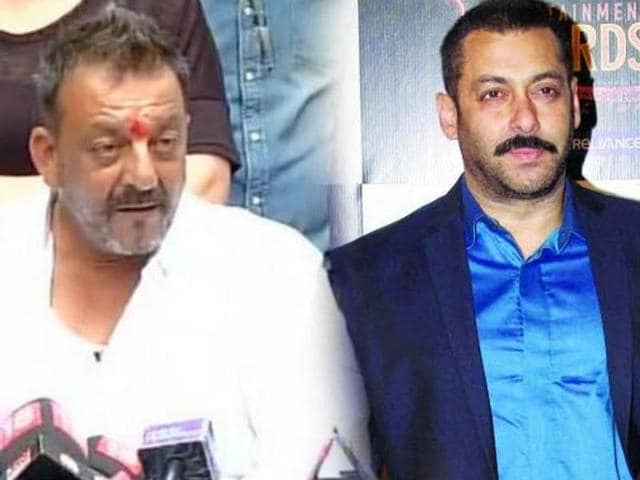 Dutt and Khan, who were considered the best of buddies in the film industry, have not been spotted together ever since the former came out of jail earlier this year, fuelling flames of speculation that all is not well between the two.